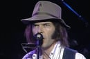 Neil Young at Farm Aid 1985