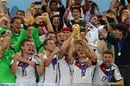 Germany celebrates winning Fifa world cup 2014 in Brazil