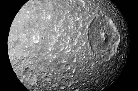 Thats no actually it is death star moon could be full of life mimas fandeluxe Epub