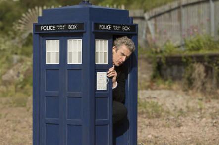 The tiny TARDIS in Flatline