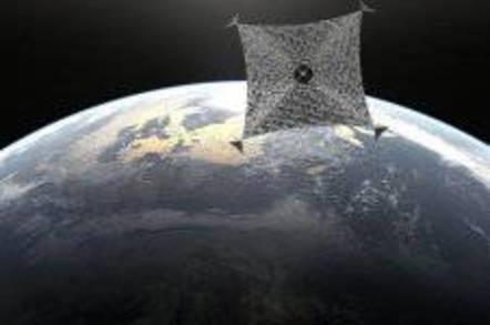 NASA Sunjammer concept image