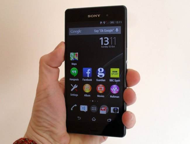 Sony Xperia Z3 Android smartphone
