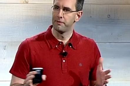 Microsoft's Scott Guthrie presents the Cloud Platform System