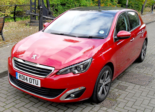 Sporty In All But Name  Peugeot 308 E