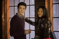 Barry Allen and Iris West in The Flash