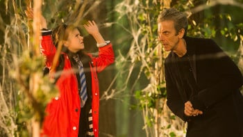 Maebh and Doctor Who In the Forest of the Night