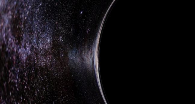 Interstellar sci-fi WORMS its way into spinning black hole ...
