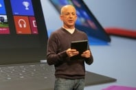 Steven Sinofsky at Surface launch event