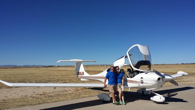 Edge's pursuit aircraft