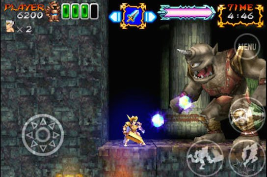 Ghosts 'n Goblins Gold Knights 2 on iOS