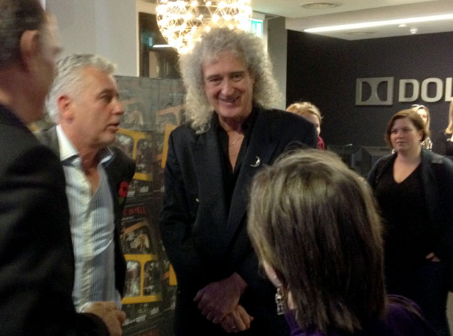 One Night in Hell - Dolby event with Brian May