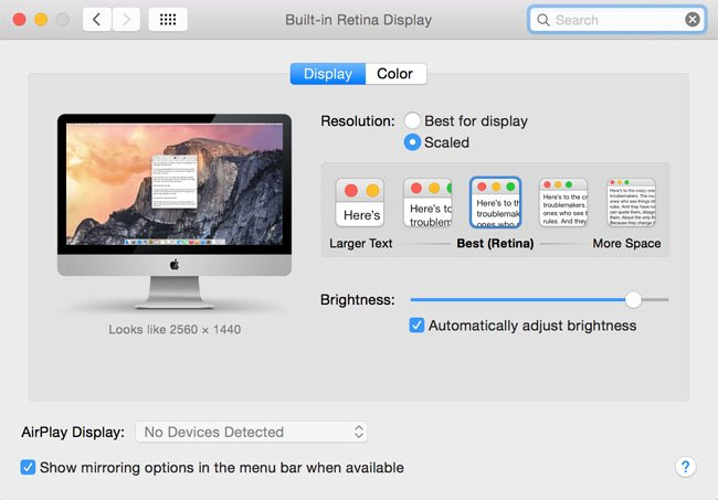 Apple iMac 27-inch with Retina Display FCP real estate