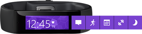 Microsoft's Band wearable
