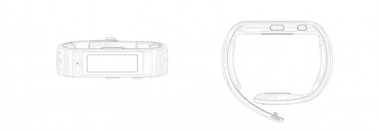 Microsoft's Band wearable blueprints