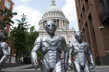 Cybermen in Dark Water