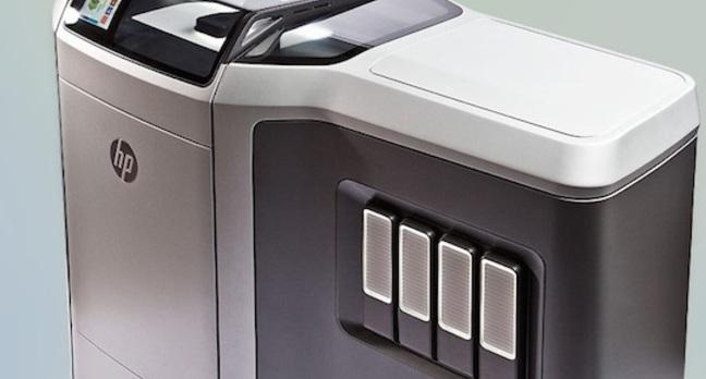 HP's Multi Jet Fusion 3D printer