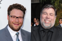 Seth Rogen and Steve Wozniak