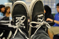 Vans trainers. Pic: Alex, Flickr