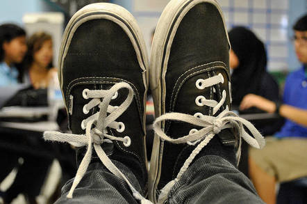 Vans trainers. Pic: Alex, Flickr