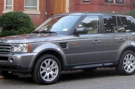 Range Rover. Credit: David Guo