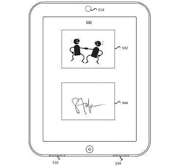 Apple's autograph patent