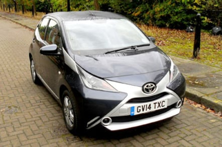 the toyota aygo is parktastic but it is very much a city slicker the register. Black Bedroom Furniture Sets. Home Design Ideas