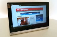 Lenovo Yoga 2 Android tablet