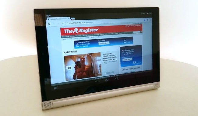 Lenovo Yoga Tablet 2 10-inch Android fondleslab