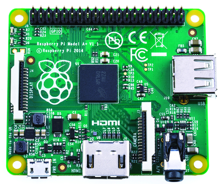The Raspberry Pi A+