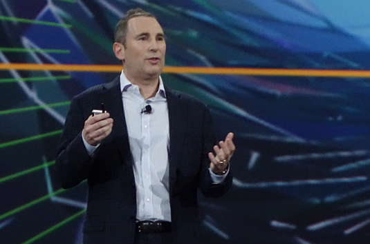 Amazon Web Services SVP Andy Jassy