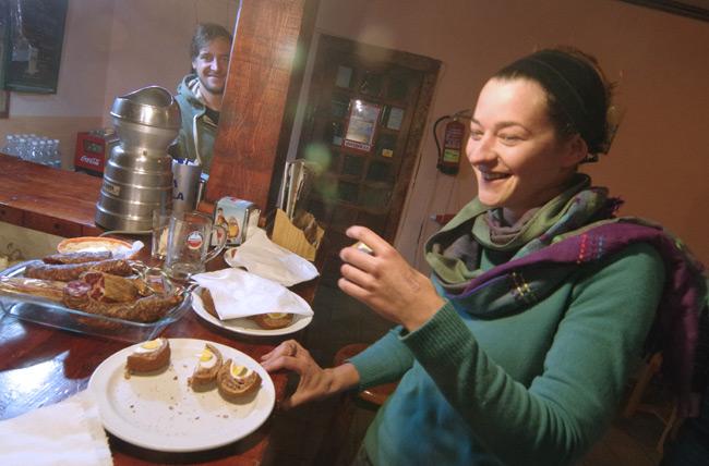 Carmen the Scot tries a Scotch egg
