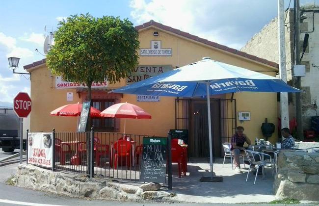 A view of Bar Restaurante San Lorenzo