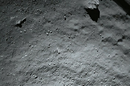 Philae ROLIS view of the comet landing site from 40m
