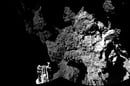 Philae takes a first look at the surface of Comet 67P