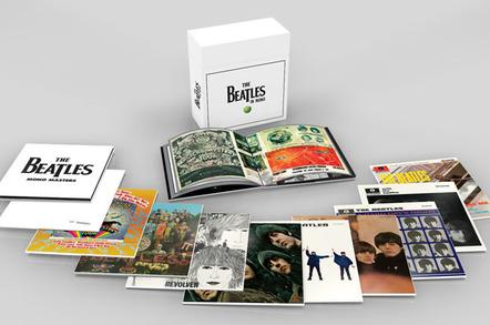 The Beatles' original mono studio albums remastered for vinyl release