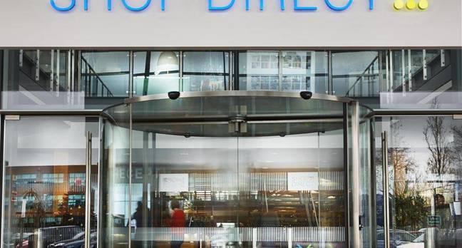 Shop Direct Skyways House entrance