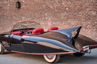 A 1963 replica batmobile