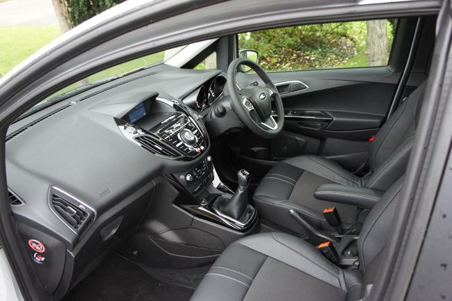 Ford B-MAX has good seats and a proper handbrake