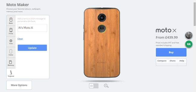 Motorola Moto X Android smartphone