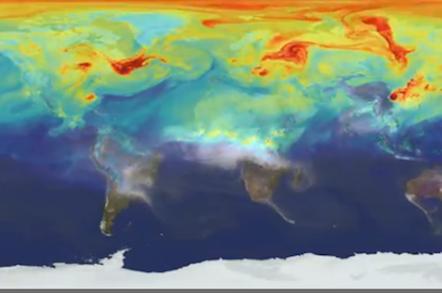 NASA Nature Run screen grab
