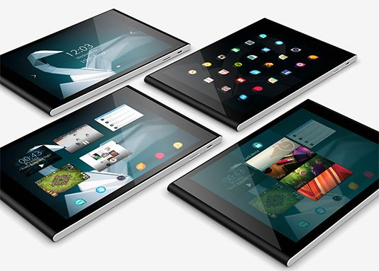 Glamor shot of proposed Jolla Tablet