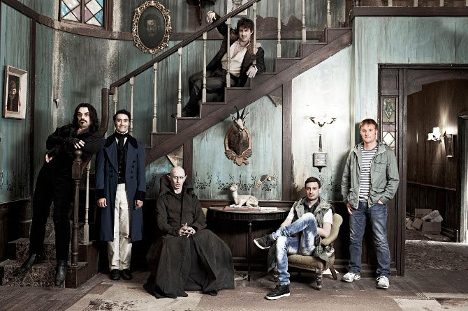 The gang in What We Do In The Shadows