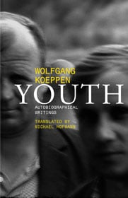 Wolfgang Koeppen, Youth: Autobiographical Writings book cover