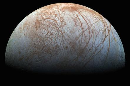 NASA's new Europa photo
