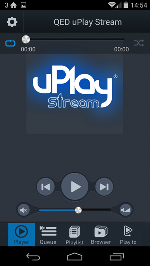 The QED uPlay streamer supports FLAC and AppleLossless, though the app is a little clunky