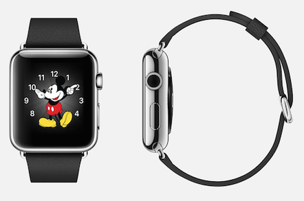 Oh BOY! The MICKEY MOUSE Apple Watch is no heart-throb • The Register