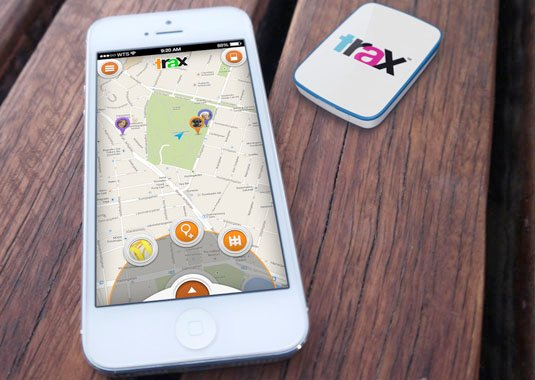Swedish firm Trax offers this small GPS tracker, with two years of service included