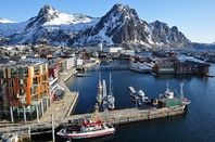 Svolvaer, Vågan Municipality, Austvågøy Island, Lofoten, Nordland County, Norway - photo by Vincent van Zeijst