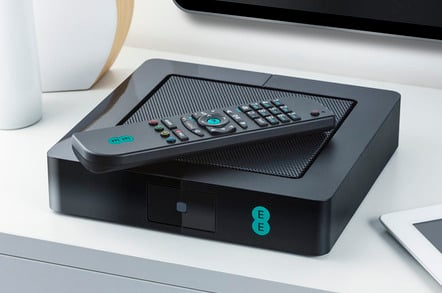 EE TV Freeview PVR