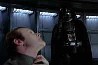 Darth Vader choking someone